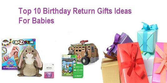 Top 10 Birthday Return Gifts Ideas One