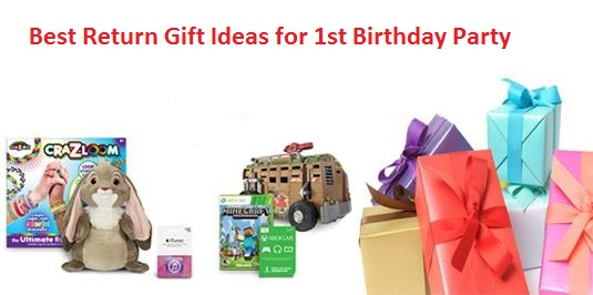 Birthday Return Gifts Ideas